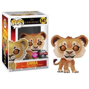 Funko Pop van Simba (Flocked) uit The Lion King 547