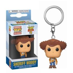 Funko Pocket Pop van Sheriff Woody uit Toy Story 4