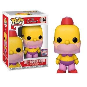 Funko Pop van Belly Dancer Homer uit The Simpsons 1144