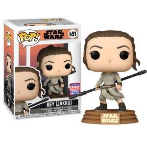 Funko Pop van Rey (Jakku) uit Star Wars 451