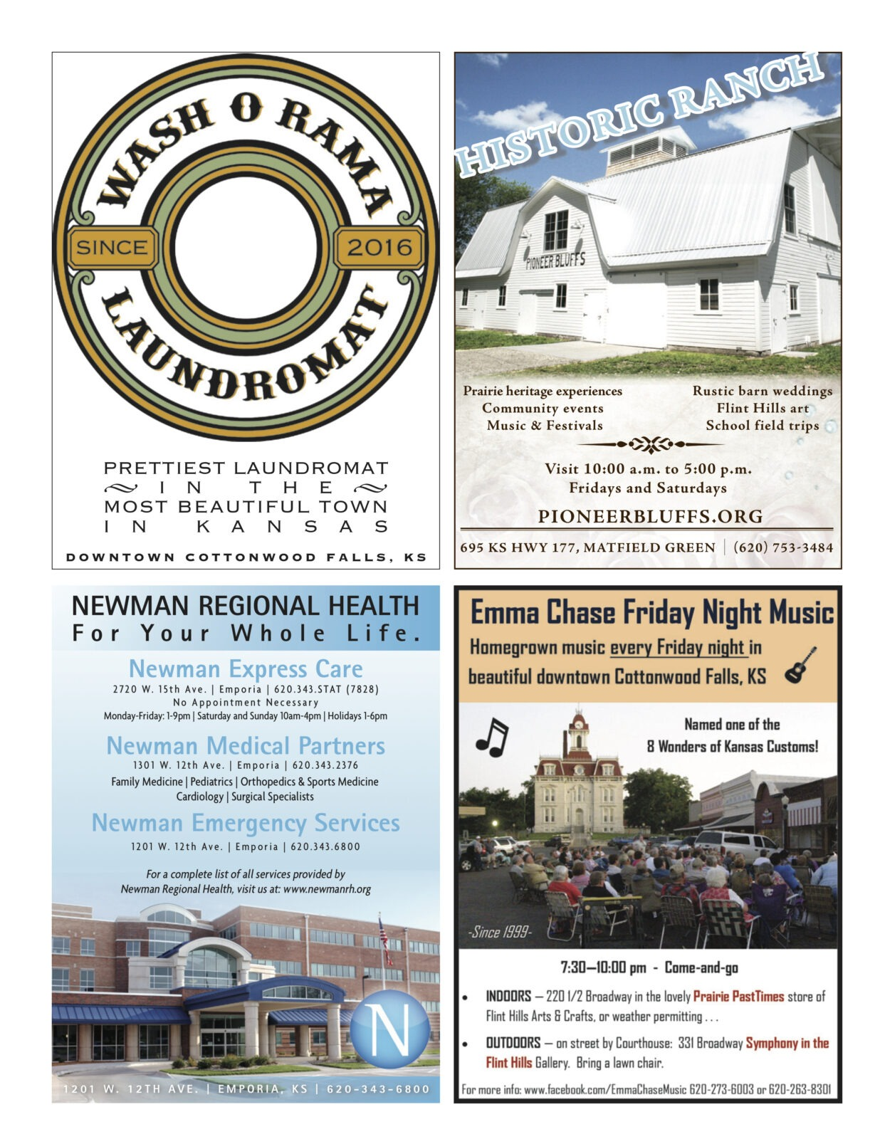 Chase County Living Magazine Chase County Kansas Find
