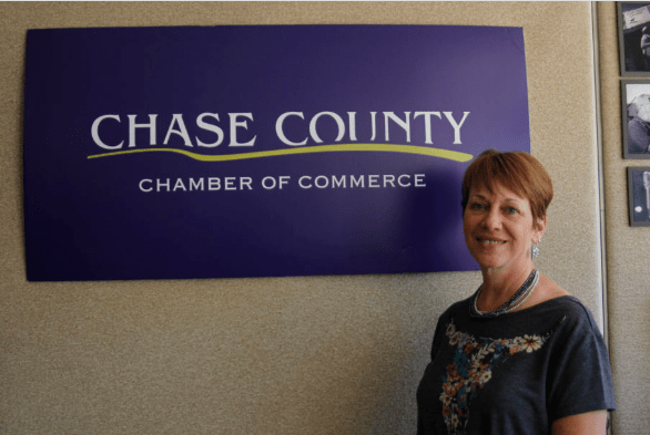 Small town, big roles! Toni Schneider works for the community she loves
