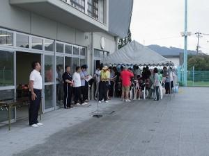 水泳大会の応援に行って来ました。 始まった開会式/どこまでもアマチュア