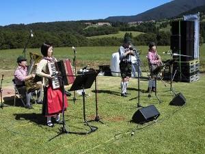 六呂師高原アルプス音楽祭2014 アルプス音楽団ボーカルなしのリハーサル2/どこまでもアマチュア