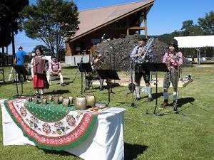 六呂師高原アルプス音楽祭2014 アルプス音楽団ボーカルなしのリハーサル3/どこまでもアマチュア