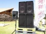 六呂師高原アルプス音楽祭2014 メインスピーカー