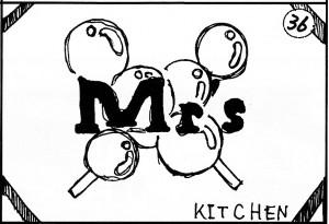第50回福井高専祭 36番「Mr's Kitchen」の広告/どこまでもアマチュア