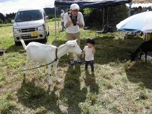 六呂師高原アルプス音楽祭2014 白やぎさんに問いかけるお子ちゃま/どこまでもアマチュア