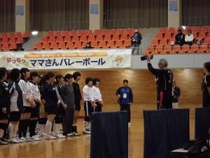 はつらつママさんバレーボールin大野 大古氏からの講評/どこまでもアマチュア