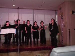 もう最高!クリスマスコンサート2014 in 勝山ニューホテル リードボーカルを入れて歌うゴスペル ウィンディ フレンズ/どこまでもアマチュア