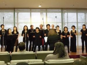 もう最高!クリスマスコンサート2014 in 勝山ニューホテル ソロのボーカルが入るゴスペル ウィンディ フレンズ/どこまでもアマチュア