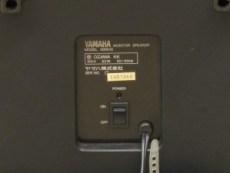 さかだに雪まつり YAMAHA MS60S 裏面の電源スイッチ/どこまでもアマチュア