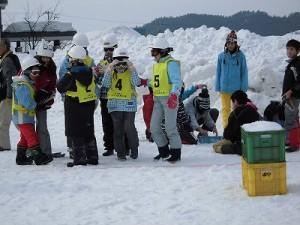 さかだに雪まつり 準備万端の選手たち/どこまでもアマチュア