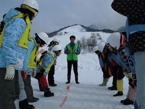 さかだに雪まつり ゲーム開始/どこまでもアマチュア
