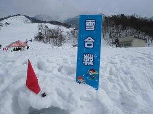 さかだに雪まつり 雪合戦の会場/どこまでもアマチュア
