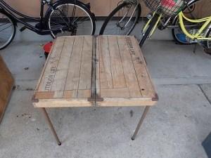 日曜大工自習教室~ズブの素人編~ アウトドア用テーブルの出来上がり/どこまでもアマチュア