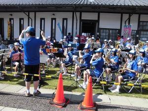 第51回越前大野名水マラソン 開成中学校吹奏楽部の皆さん/どこまでもアマチュア