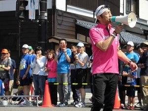 第51回越前大野名水マラソン 絶好調のゲストランナー 森脇 健児氏/どこまでもアマチュア