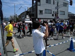 第51回越前大野名水マラソン 最後尾につけるゲストランナー 森脇 健児氏/どこまでもアマチュア