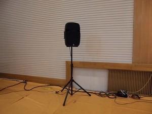 第30回大野市福祉ふれあいまつり JBL 500 Series EON 515XT Self Powered Loudspeaker/どこまでもアマチュア