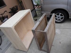 日曜大工自習教室~ズブの素人編~ 作業台の収納を試してみる/どこまでもアマチュア