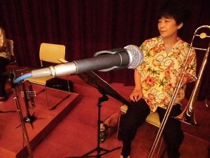 結の故郷・里芋音頭 踊り大会 & 清水ゆう・ハーバーライツオーケストラコンサート SHURE SM58/どこまでもアマチュア