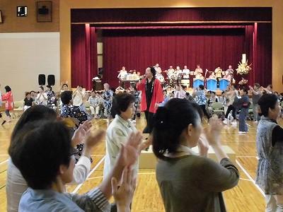 結の故郷・里芋音頭 踊り大会 & 清水ゆう・ハーバーライツオーケストラコンサート その2