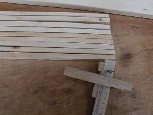 日曜大工自習教室~下手の横好き編~ 桟の残数9本/どこまでもアマチュア