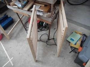 日曜大工自習教室~下手の横好き編~ 両側面の枠完成/どこまでもアマチュア