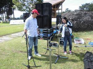 六呂師高原アルプス音楽祭2015 仲睦まじいI氏夫妻/どこまでもアマチュア
