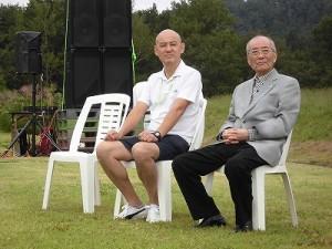 六呂師高原アルプス音楽祭2015 主催者席/どこまでもアマチュア