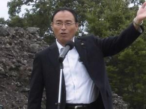六呂師高原アルプス音楽祭2015 県議会議員 山岸 猛夫氏/どこまでもアマチュア