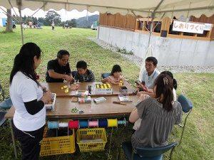 六呂師高原アルプス音楽祭2015 バードコール作り/どこまでもアマチュア