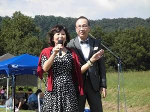 六呂師高原アルプス音楽祭2015 佐藤 仁美氏とたけ美氏/どこまでもアマチュア