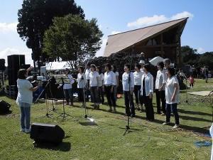 六呂師高原アルプス音楽祭2015 ゴスペル・ウィンディ・フレンズの皆さん/どこまでもアマチュア