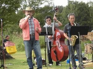 六呂師高原アルプス音楽祭2015 珍しくヴォーカルが加わったO'rioFunbers/どこまでもアマチュア