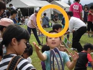 六呂師高原アルプス音楽祭2015 藤島高校ジャグリング部 やっぱり放り投げてみたくなるリング/どこまでもアマチュア