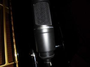 お城でゴスペルⅢ audio technica AT2020/どこまでもアマチュア