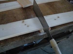 日曜大工自習教室~下手の横好き編~ 天板を鋸で切り出し/どこまでもアマチュア