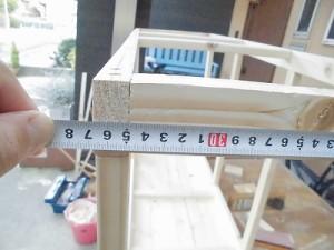 日曜大工教室~我流か自己流か編~ 側面の寸法測定/どこまでもアマチュア