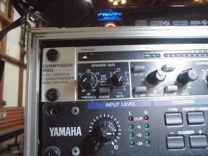 MARIA ライブ 2015 at 平蔵 Behringer コンプリミッター COMPOSER PRO MDX2200/どこまでもアマチュア