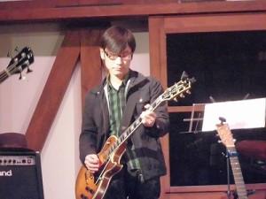 MARIA ライブ 2015 at 平蔵 サイドギター コーヘイ/どこまでもアマチュア