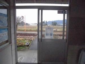 越前東郷駅を見てきました。 駅舎を出てプラットホームへ向かう/どこまでもアマチュア
