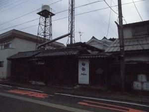 越前東郷駅を見てきました。 安本家奥の酒造工場/どこまでもアマチュア