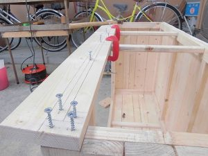 日曜大工教室~我流か自己流か編 クランプで固定/どこまでもアマチュア