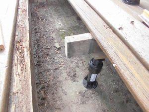 日曜大工教室~基礎からやり直し編~ 切断した根太/どこまでもアマチュア