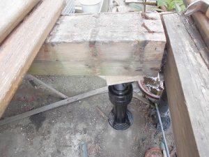 日曜大工教室~基礎からやり直し編~ 側根太を床束で支える/どこまでもアマチュア