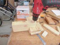 日曜大工教室~基礎からやり直し編~ 継ぎ足し部材にビス穴開け/どこまでもアマチュア