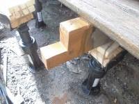 日曜大工教室~基礎からやり直し編~ L型に切った既存根太に塗装/どこまでもアマチュア