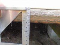 日曜大工教室~基礎からやり直し編~ 床板の寸法計測/どこまでもアマチュア